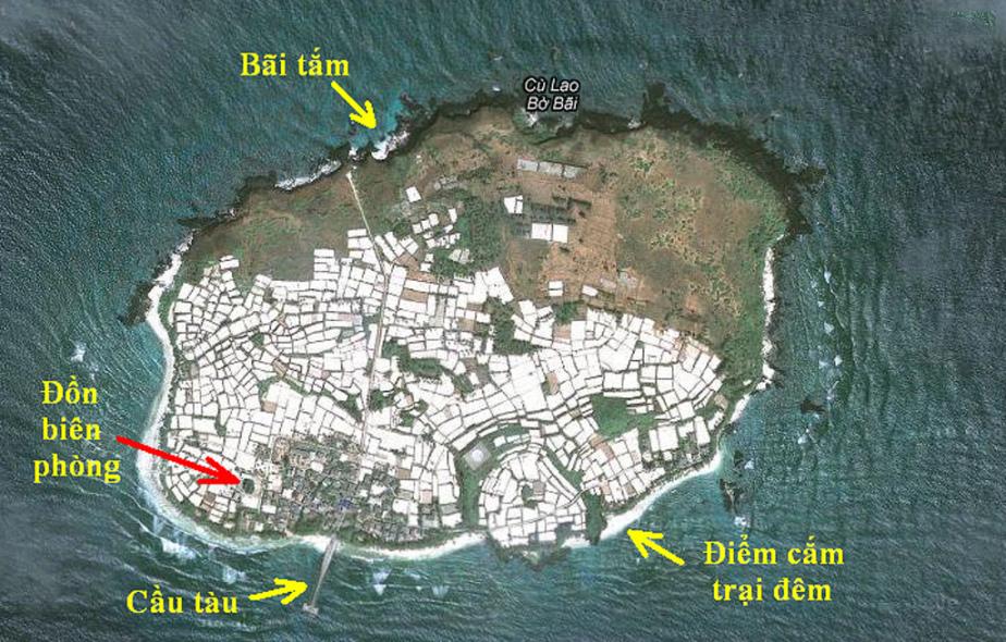 Bản đồ Đảo Bé Lý Sơn
