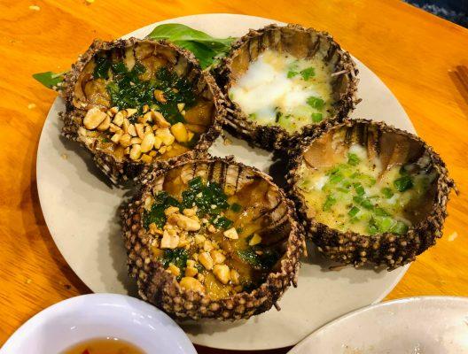 Nhum biển Lý Sơn